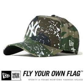 【2020年 春夏新作】【NEWERA ニューエラ NEW ERA】 キャップ スナップバック 迷彩 カモフラージュ ニューヨーク ヤンキース 帽子 9FORTY A-FRAME メンズ men's 国内正規品 インポート ブランド 海外ブランド 12326294