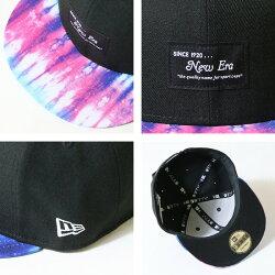 【NEWERAニューエラNEWERA】キャップスナップバック帽子9fiftyタイダイ染めブラックメンズレディース国内正規品インポートブランド海外ブランド12326146