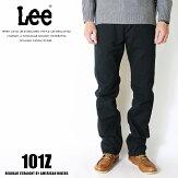 Leeリー101zアメリカンライダース日本製ストレートジーンズツイル裾直し無料送料無料ブラックメンズインポートブランド海外ブランドLM5101-375