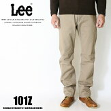 Leeリー101zアメリカンライダース日本製ストレートジーンズツイル裾直し無料送料無料カーキメンズインポートブランド海外ブランドLM5101-314