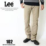 Leeリージーンズ102ブーツカットアメリカンライダース日本製ツイル裾直し無料送料無料カーキメンズインポートブランド海外ブランドLM5102-314