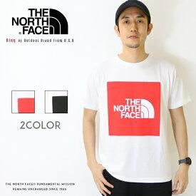 【2020年 春夏新作】【THE NORTH FACE ザ・ノースフェイス】 tシャツ 半袖 ロゴ ボックスロゴ ザノースフェイス メンズ men's 国内正規品 インポート ブランド 海外ブランド アウトドアブランド NT32043
