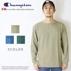 【2020年 春夏新作】【Champion チャンピオン】 長袖Tシャツ ロンt tシャツ クルーネック CAMPUS トップス メンズ men's レディース 国内正規品 インポート ブランド 海外ブランド C3-R409