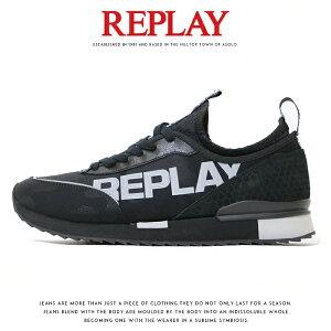 【REPLAY リプレイ】 スニーカー シューズ 靴 くつ ローカット リプレイジーンズ メンズ MEN'S 国内正規品 インポート ブランド 海外ブランド GMS68-000-C0021T