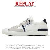 【REPLAYリプレイ】スニーカーシューズ靴くつローカットリプレイジーンズメンズMEN'S国内正規品インポートブランド海外ブランドGMV86-000-C0007T