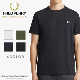 【FRED PERRY フレッドペリー】 Tシャツ 半袖 ロゴ メンズ men's 国内正規品 インポート ブランド 海外ブランド M3519