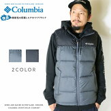 【Columbiaコロンビア】ジャケットアウター中綿ベスト防寒オムニヒートメンズ国内正規品インポートブランド海外ブランドアウトドアブランドWE0018