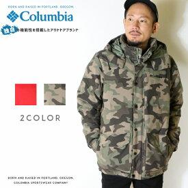 Columbia コロンビア アウター ダウンジャケット 防寒 オムニヒート メンズ 国内正規品 インポート ブランド 海外ブランド アウトドアブランド WE0995