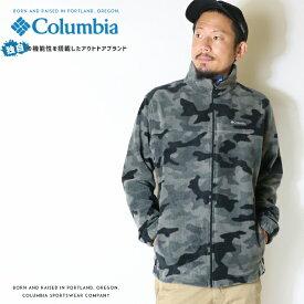 【Columbia コロンビア】 フリース ジャケット アウター 長袖 ジップアップ 迷彩 カモフラージュ men's メンズ 国内正規品 インポート ブランド 海外ブランド アウトドアブランド WE6017