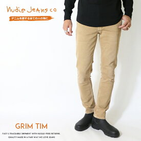 【nudie jeans ヌーディージーンズ】 GRIM TIM グリムティム スキニー スリム メンズ インポートブランド 海外 ブランド 国内正規品 51161-1413-N134