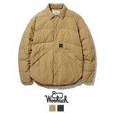 【WOOLRICHウールリッチ】ダウンジャケットダウンシャツアウター防寒メンズ国内正規品インポートブランド海外ブランドWJLW0011