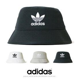 【adidas originals アディダス オリジナルス】 ハット バケットハット 帽子 トレフォイルロゴ 三つ葉 小物 メンズ ユニセックス 国内正規品 インポート ブランド 海外ブランド BHH18