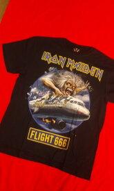 IRON MAIDEN ロックTシャツ S M L XL /アイアン メイデン/バンT/黒/HM/半袖/ヘビ-メタル