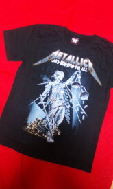 ロックTシャツ メタリカ METALLICA AND JUSTICE FOR ALL S/M/L/XL バンT/バンドT/ヘビ−メタル/ハ−ドロック/HM/HR