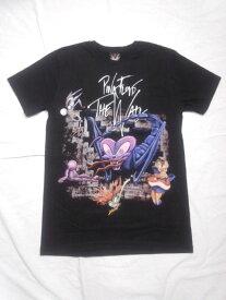 ロックTシャツ ピンクフロイド PINK FLOYD THE WALL S/M/L/バンT/バンドTシャツ/ハードロック/HM/HR/ヘビーメタル/黒