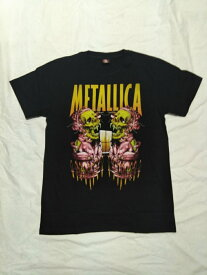 ロックTシャツ METALLICA(メタリカ)  S/M/L/XL /バンT/ヘビ−メタル/ハ−ドロック/HM/HR/スカル/髑髏