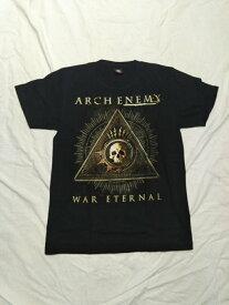 ロックTシャツ アークエネミー ARCH ENEMY WAR ETERNAL S/M/L/XL/バンT/バンドTシャツ/ハードロック/HM/HR/ヘビーメタル/スカル/黒