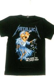 ロックTシャツ METALLICA(メタリカ) THEIR MONEY TIPS HER SCALES AGAIN S/M/L/XL /バンT/ヘビ−メタル/ハ−ドロック/HM/HR