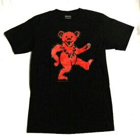 激安!! ロックTシャツ THE GRATEFUL DEAD グレートフル デッド 黒 M L 熊