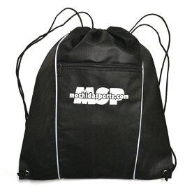 MSPナップサック ヘルメットバッグ ブラック/ホワイト
