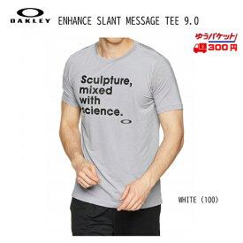 オークリー Tシャツ OAKLEY ENHANCE SLANT MESSAGE TEE 9.0 [457852JP-100]