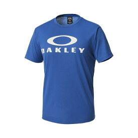オークリー Tシャツ ブルー OAKLEY ENHANCE TECHNICAL QD TEE.18.01 [457166jp-62H]