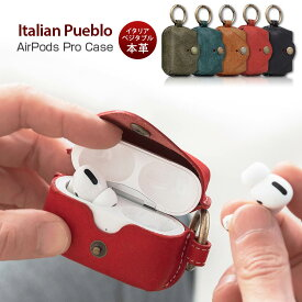 SLG Design Italian Pueblo Leather AirPods Pro Case イタリア製プエブロレザーを使用したビンテージ感 SD18580APP SD18581APP SD18582APP SD18583APP