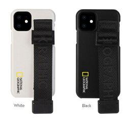 公式ライセンス品 National Geographic iPhone 12 mini(5.4インチ)Signature Strap Case ベルト状のハンドストラップ付き NG19612i12 NG19613i12