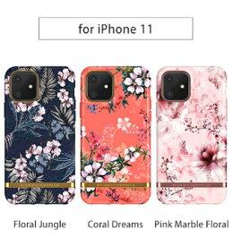 Richmond & Finch iPhone 11 6.1インチ FREEDOM CASE フローラル 北欧発 花柄のおしゃれでファッショナブル RF17988i61R RF17991i61R RF17992i61R