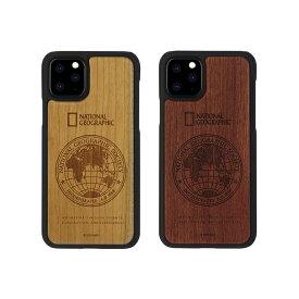 National Geographic iPhone 11 Pro Max 6.5インチ Global Seal Nature Wood 天然木で作られたおしゃれなケース NG17191i65R NG17192i65R