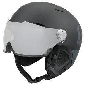 bolle (ボレー) ヘルメット MIGHT VISOR PREMIUM 19-20 マイト バイザー プレミアム マットブラック&グレー ボレー bolle 31842 31843