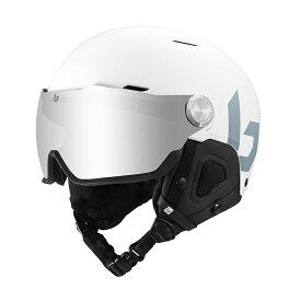 送料無料 bolle (ボレー) ヘルメット MIGHT VISOR 20-21 マットオフホワイト マイトバイザー ボレー bolle 32115-32116
