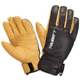TAUBERT(トーバート) スキーグローブ Full Leather SLOPE カーボンブラウン 20-21 トーバート