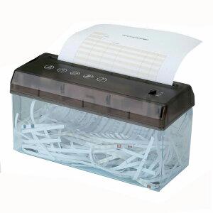 A4サイズ 電動シュレッダー USBケーブル付 SV-5349 GT810149 (210729) シュレッダー 重要書類 裁断 粉砕 個人情報 漏えい防止 家庭用 コンパクト はさみ 卓上型シュレッダー 卓上 ハガキ はがき 乾