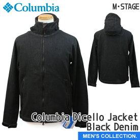 【コロンビア】コロンビア ディセロジャケット ブラック デニム メンズ アウタージャケット Columbia Dicello Jacket Black Denim ユニセックス