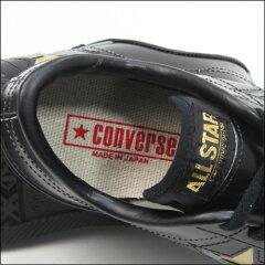 限定品【CONVERSE】コンバースワンスターJブラック/ゴールドスニーカーローカット日本製黒/金ユニセックスメンズサイズONESTARJBK/GO35200060