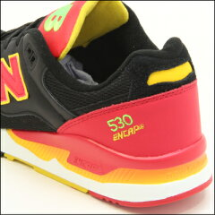 《ピンボールコレクション》【newbalance】ニューバランスM530PIN(幅:D)[BLACK/RED]RunningStyleスニーカー(メンズ)【送料無料】
