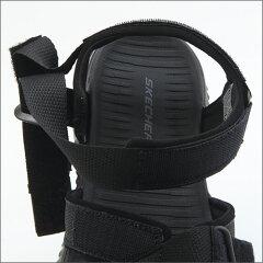 【Sスケッチャーズ】メンズスポーツサンダルスポサンベルクロベルトストラップELITEFLEXLINSTON51722ブラックBLACK黒