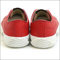 【SPINGLEMOVE】スピングルムーブSPM-106RED(レッド)メンズローカットスニーカーmadeinjapanハンドメイド手作り革靴