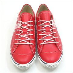 【SPINGLEMOVE】スピングルムーブSPM-139REDレッドメンズサイズスニーカーカウレザー革靴madeinjapanハンドメイド手作り広島東洋カープ