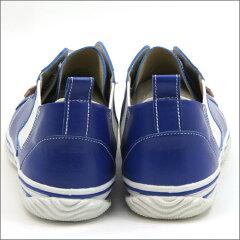 ポイント10倍!【SPINGLEMOVE】スピングルムーブSPM-442BLUE(ブルー)メンズmadeinjapanハンドメイド(手作り)スニーカー(革靴)【送料無料】