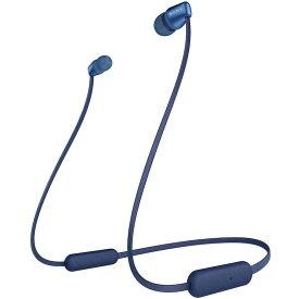 Sony/ソニー WI-C310 カナル型 ワイヤレス イヤホン ヘッドセット(ブルー)(並行輸入品)