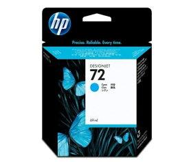 HP HP72 インクカートリッジ(シアン69ml) C9398A(1個)【純正品】[送料無料]