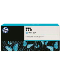 HP HP771B インクカートリッジ(ライトシアン775ml) B6Y04A(1個)【純正品】[送料無料]