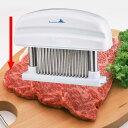 【ヒルナンデスで紹介!!】送料無料ミートテンダー ミートソフター 肉筋切り器 ライザー XL ステンレス刃 肉 筋切り …