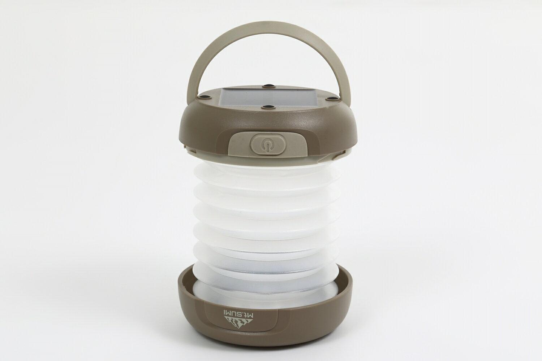 ソーラーバンクランタン【暖かい電球色】 ランタン&懐中電灯 ソーラー充電/マイクロUSB充電/USB出力