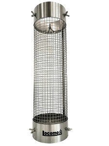 Locomo 『 煙突ガード 』 薪ストーブ アクセサリーテントプロテクター 煙突 ガード パーツ