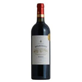 【スーパーセール半額】訳あり シャトー・ベガダン[2014]メドック クリュ・ブルジョワ 金賞 AOCメドック 赤 格上 フランス ワイン 金賞 赤ワイン 750ML ラベルやキャップシールに傷みあり