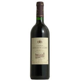 シャトー・シュヴァリエ・デ・ラ・ガルデ[1998] フランス AOCフロンサック 赤ワイン ボルドー 木樽熟成 750ML ギフト プレゼント父の日 お中元