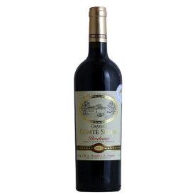 シャトー・コンテ・セギュール[2015]金賞 AOCボルドー 赤 フランス ギフト プレゼント ワイン 金賞 赤ワイン 金賞 750ML